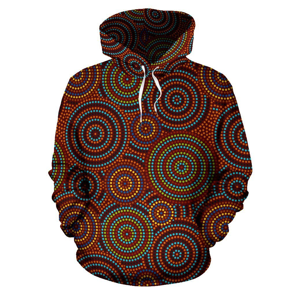 Color Aboriginal All Over Hoodie NNK1448 - Amaze Style™-Apparel