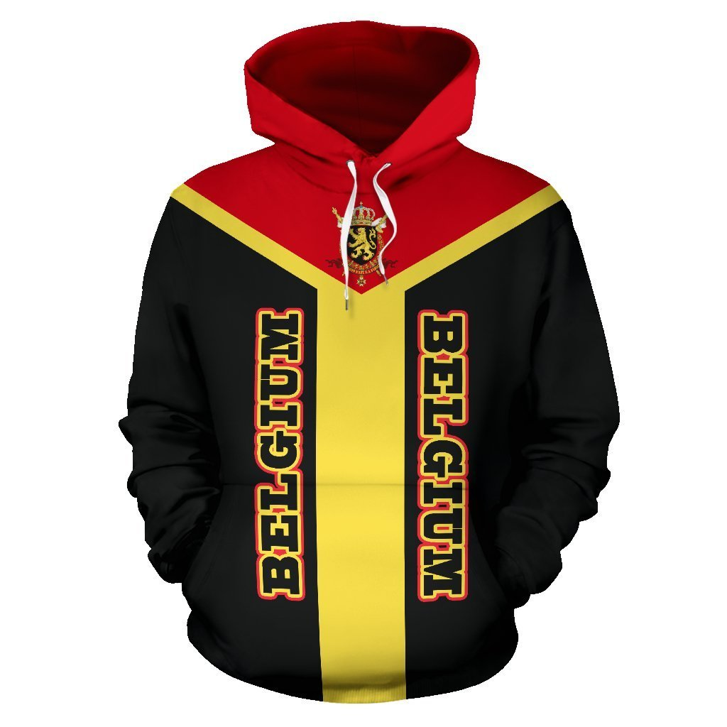 Belgium is My Homeland Pullover Hoodie A7 - Amaze Style™-Apparel
