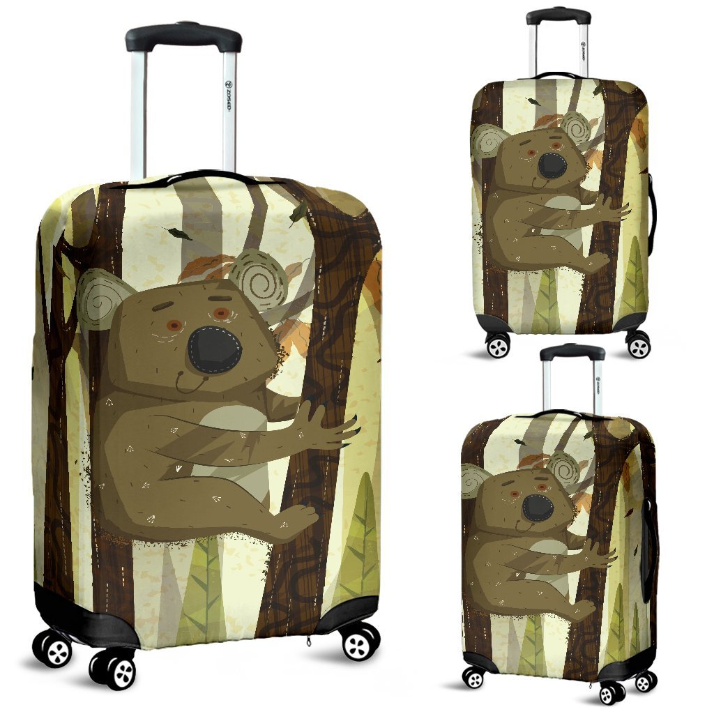 Australia Koala Luggage Cover 04 k7 - Amaze Style™-LUGGAGE COVERS