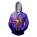 3D All Over Print This Girl Loves Her Mushrooms Hoodie - Amaze Style™-Apparel