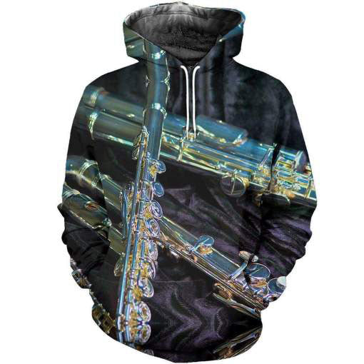 Flute music 3d hoodie shirt for men and women HG4401 - Amaze Style™-Apparel