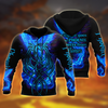 Royal Blue Phoenix Tattoo 3D All Over Printed Hoodie Shirt by SUN AM250502 - Amaze Style™-Apparel