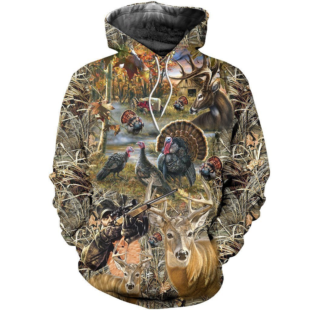 3D All Over Printed Hunting Shirts - Amaze Style™-Apparel