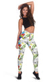 3D All Over Printing Beautiful Scarlet Macaw Legging - Amaze Style™-Apparel