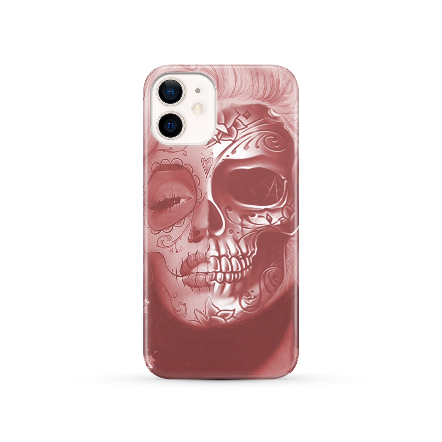 Beautiful Skull Face phone case - Amaze Style™