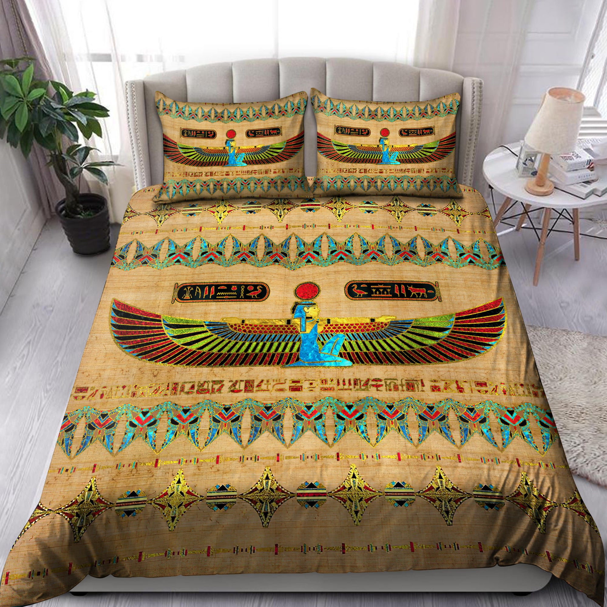 Ancient Egyptian Ma'at Bedding Set Pi01072005 - Amaze Style™-Bedding