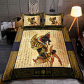 Ancient Egyptian Anubis Bedding Set Pi03072005 - Amaze Style™-Bedding