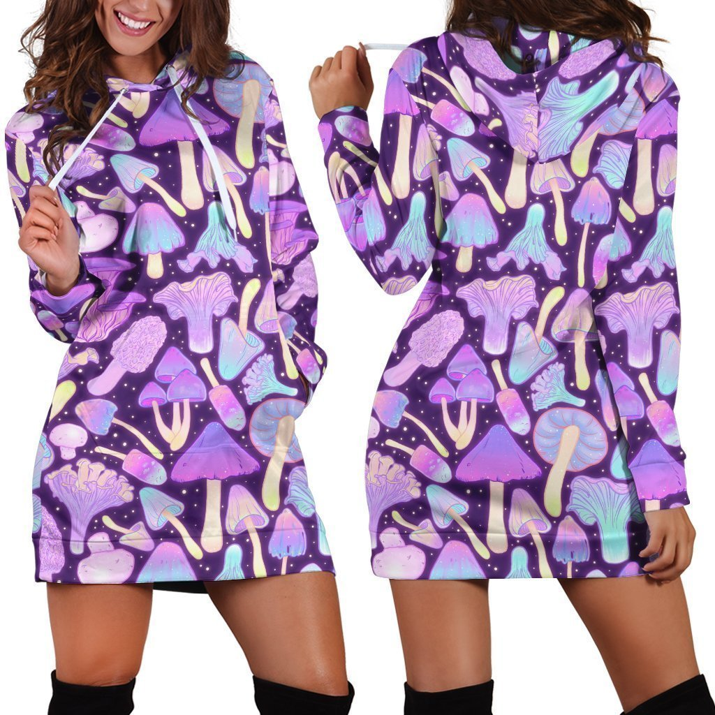 All Over Print Violet Many mushroom - Amaze Style™-Apparel