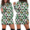 All Over Printing Major Mitchell's Cockatoo Parrot Hoodie Dress - Amaze Style™-Apparel