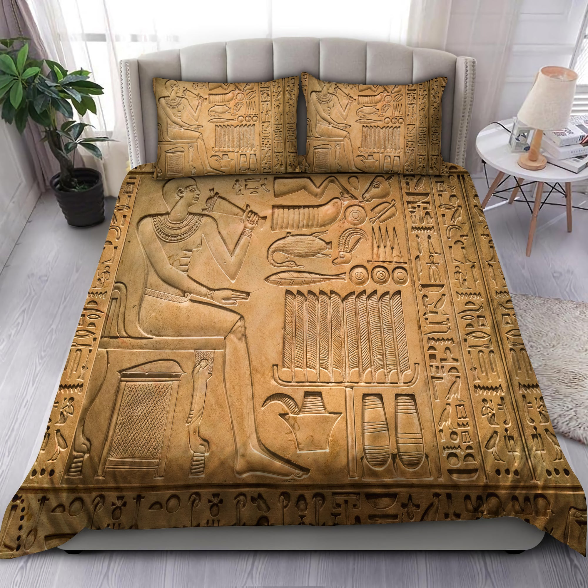 Ancient Egypt Art Bedding Set-HP - Amaze Style™-Bedding