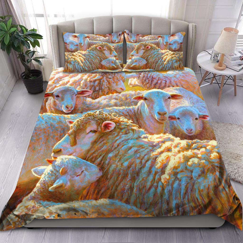 Sheep Bedding Set HAC150701-TT - Amaze Style™-Bedding Set