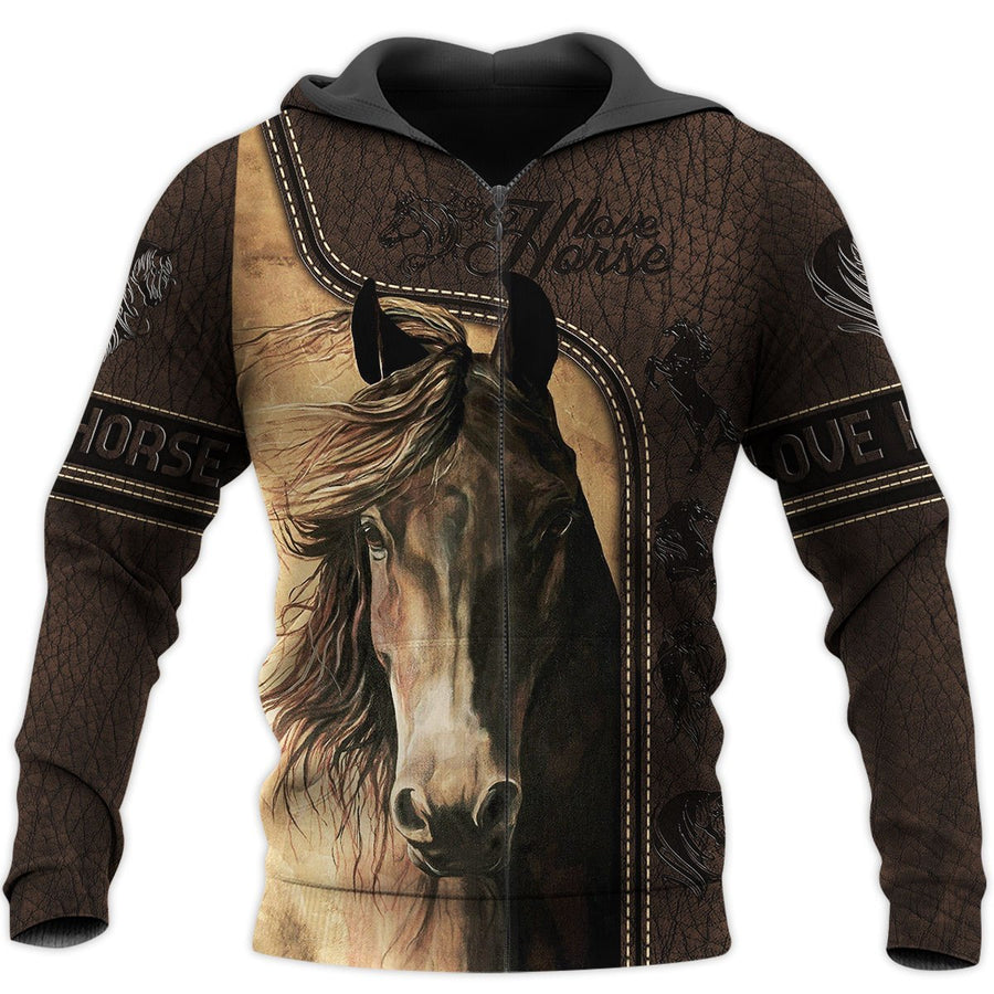 Love Horse 3D All Over Printed Shirts MP090401 - Amaze Style™-Apparel