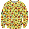 3D All Over Printing Sunflower Shirt - Amaze Style™-Apparel