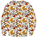 All Over Printing yellow Mushroom Shirt - Amaze Style™-Apparel