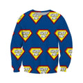 3D All Over Super Dad Hoodie - Amaze Style™-Apparel
