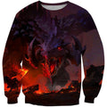3D All Over Print Earth Dragon Warrior  Hoodie - Amaze Style™-Apparel
