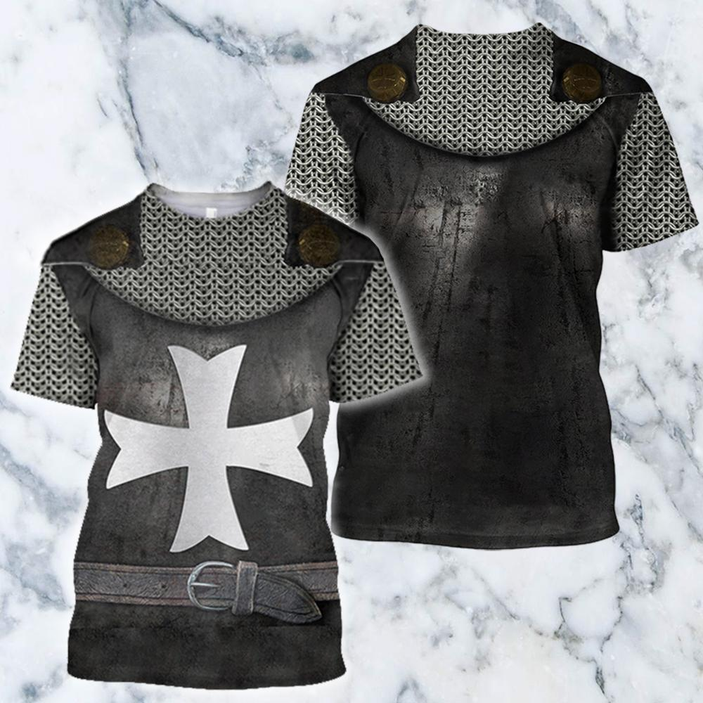 3D All Over Printed Hospitaller Knights Shirts And Shorts - Amaze Style™