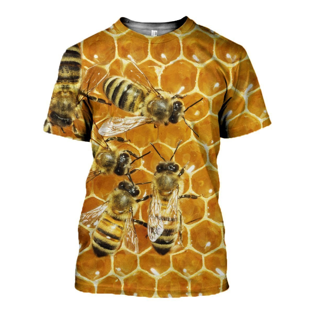 3D All Over Printed Bees Shirts and Shorts - Amaze Style™