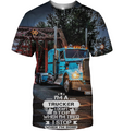 3D All Over Print Trucker 02 Shirt - Amaze Style™-Apparel