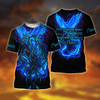 Royal Blue Phoenix Tattoo 3D All Over Printed T-Shirt Short by SUN AM250502 - Amaze Style™-Apparel