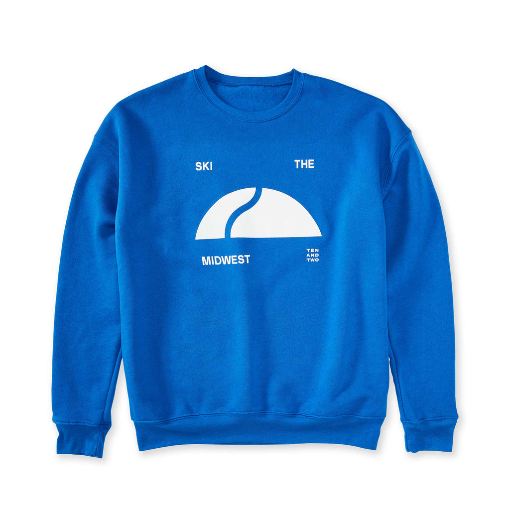 Ski The Midwest Crewneck - NEW