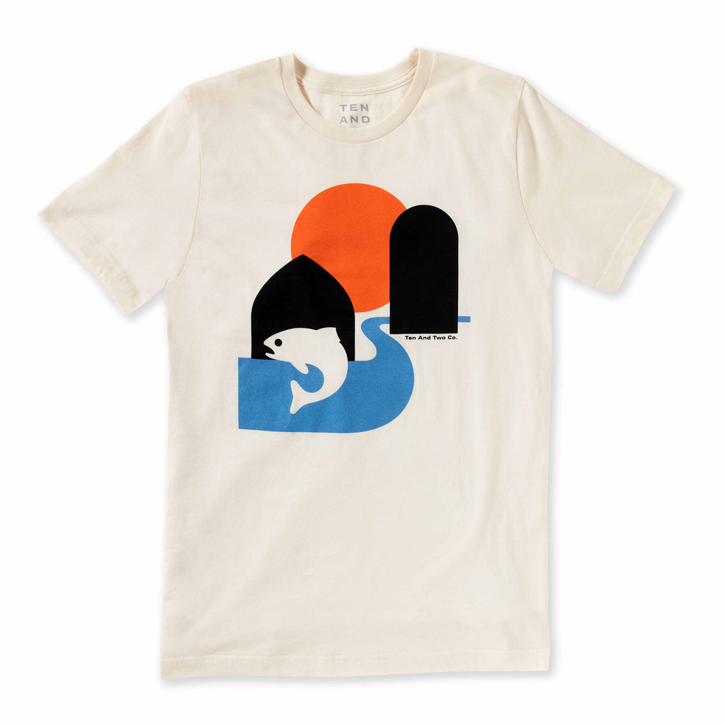 Silos and Streams Tee