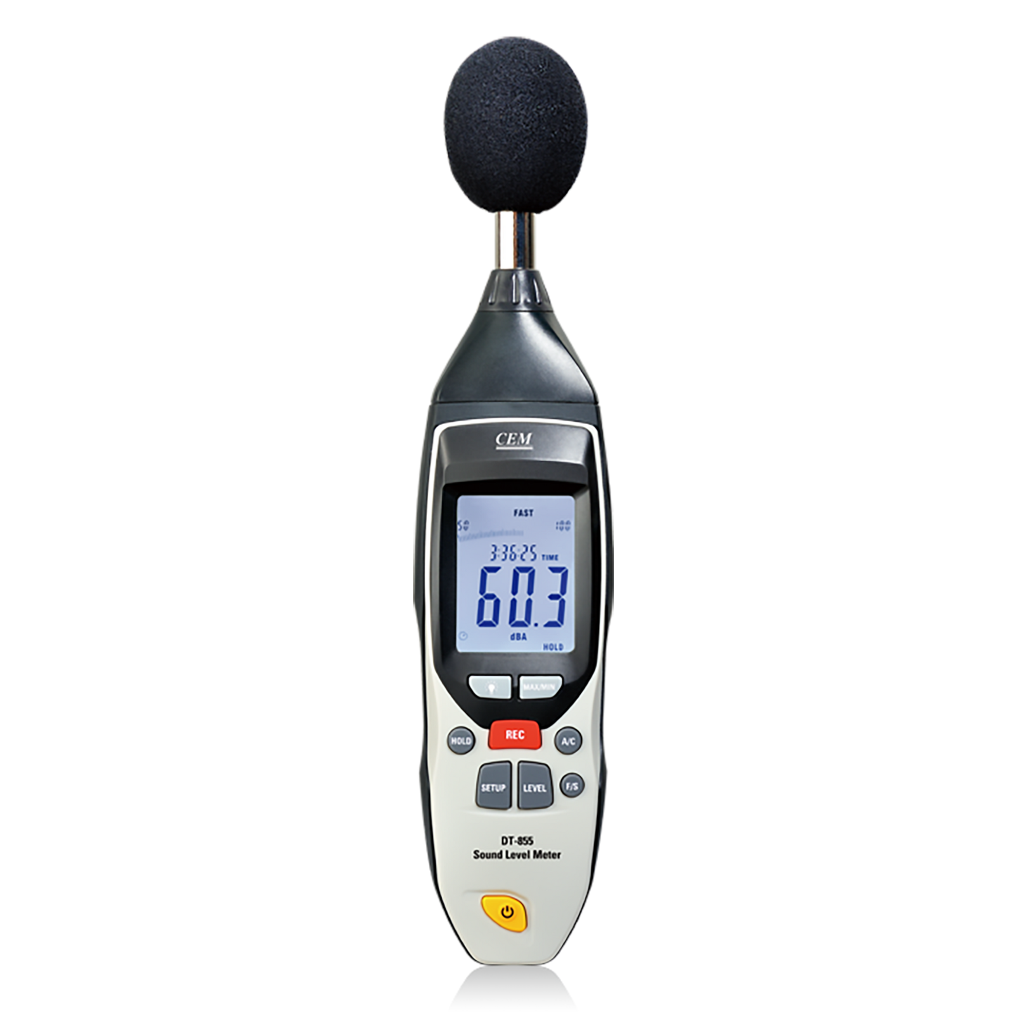 CEM DT-855 Sound and Decibel Meter