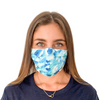 Protective Face Mask - Blue Water
