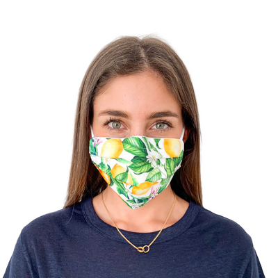 Protective Face Mask - Citrus Fruits