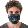 Protective Face Mask - Navy Dandelion