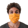 Protective Face Mask - Yellow Bee