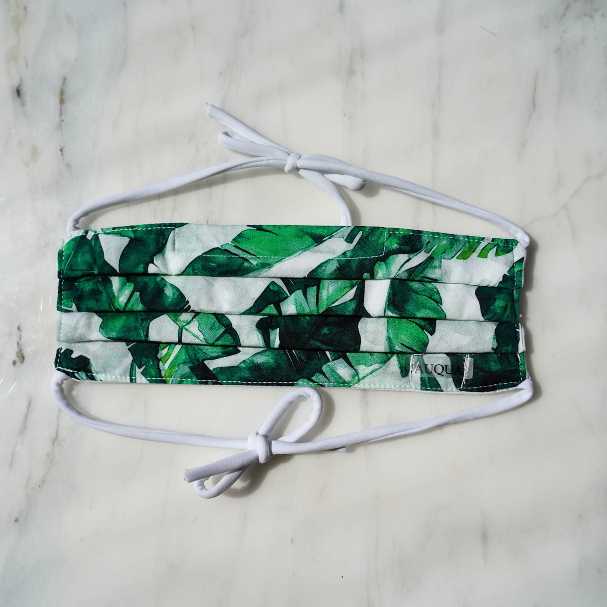 Protective Mask - Green Leaf