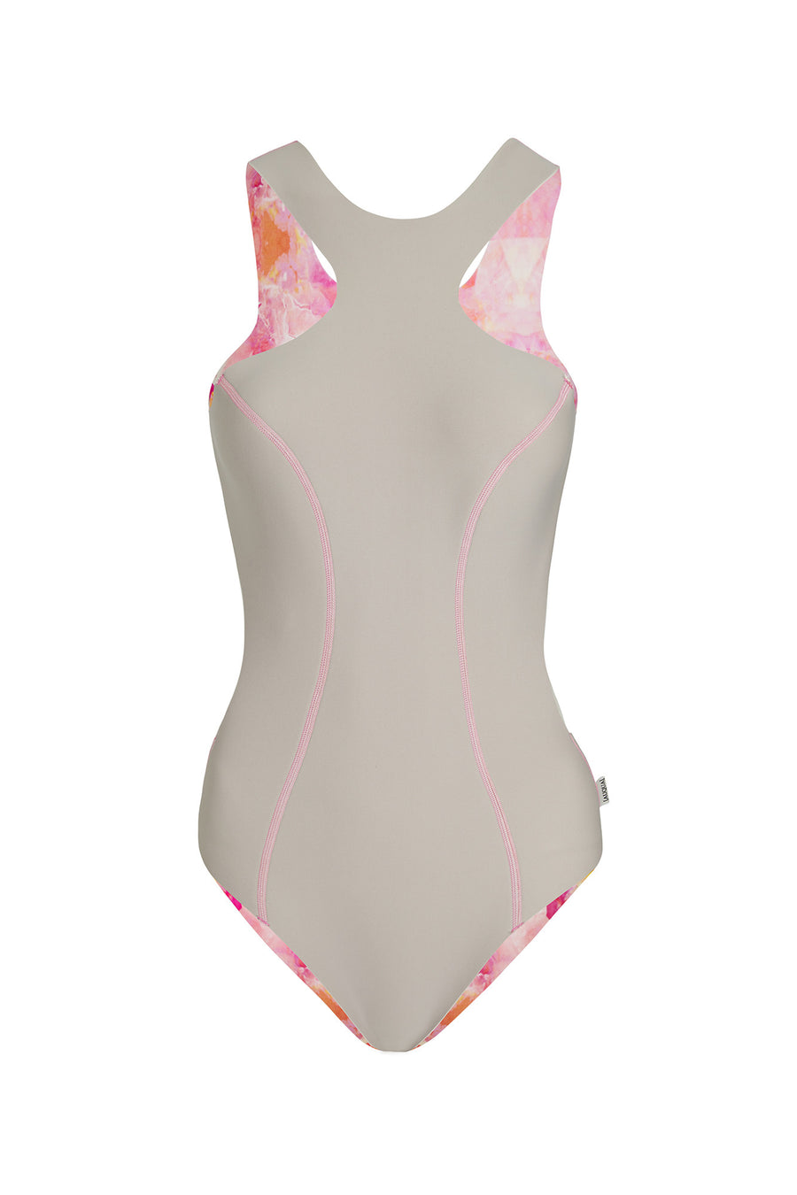 """Alessandra"" Neoprene One Piece [Sahara Sunset / Sand Dune]"