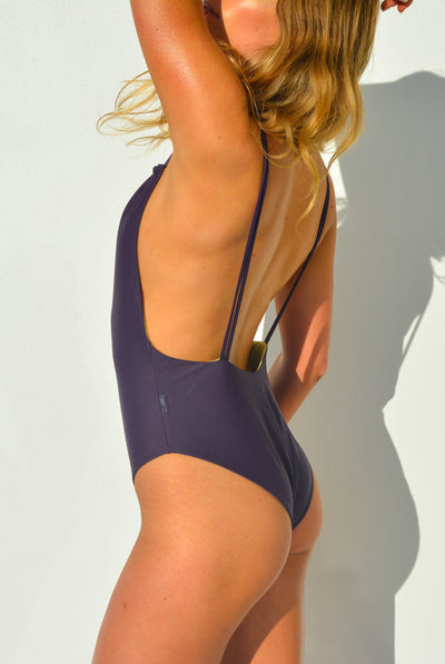 """BRIDGET"" LYCRA 1 PC IN [GRAPE VINE / LEMON DROP]"