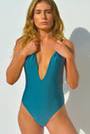 """BRIDGET"" LYCRA 1 PC IN [UNICORNS HORN / SILVER DUST]"