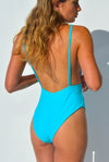 """BRIDGET"" LYCRA 1 PC IN [BARRIER REEF / MALDIVIAN WATERS]"