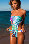 """Madeline"" 1 PC in [Bird of Paradise / White]"