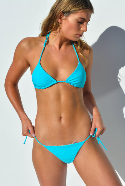 """JO"" ADJUSTABLE BIKINI BOTTOMS IN [BARRIER REEF / MALDIVIAN WATERS]"