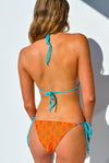"""JO"" ADJUSTABLE BIKINI BOTTOMS IN [VITAMIN C / MALDIVIAN WATERS]"