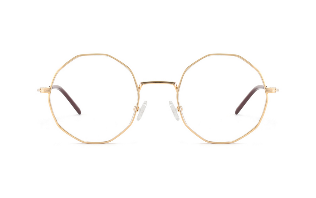 round gold glasses frames