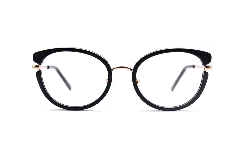 trendy cat eye glasses