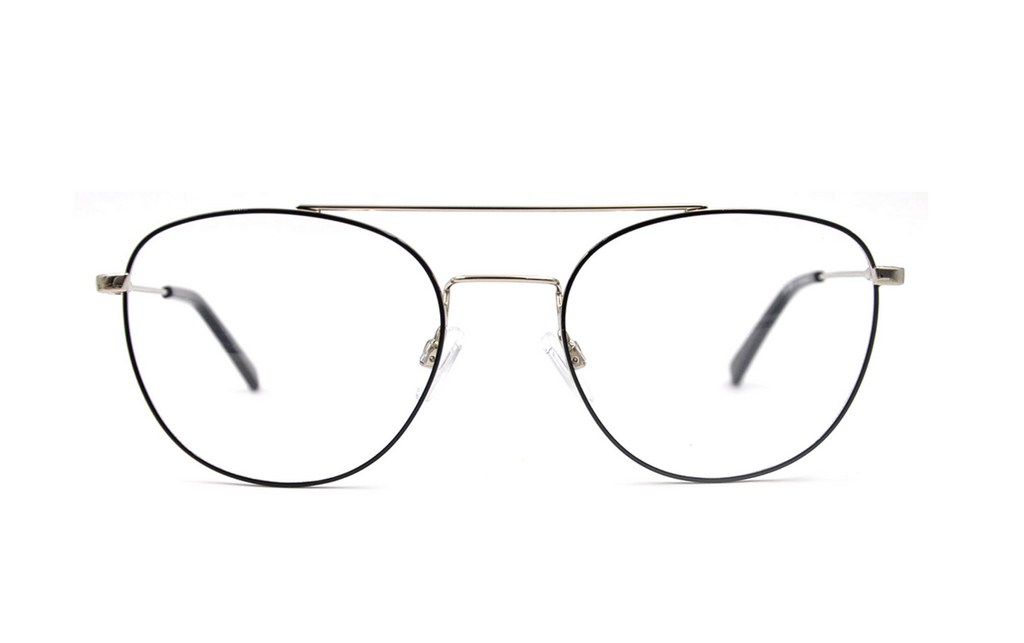 Metal aviator prescription glasses frames