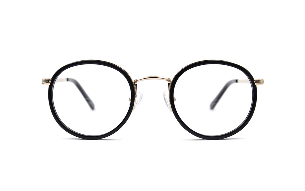 fashionable round glasses