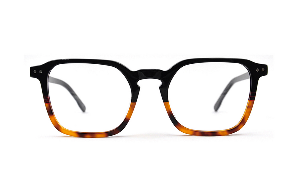 trendy square acetate glasses