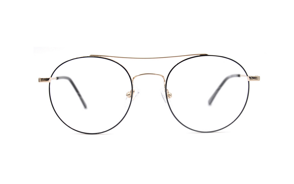 round aviator prescription glasses