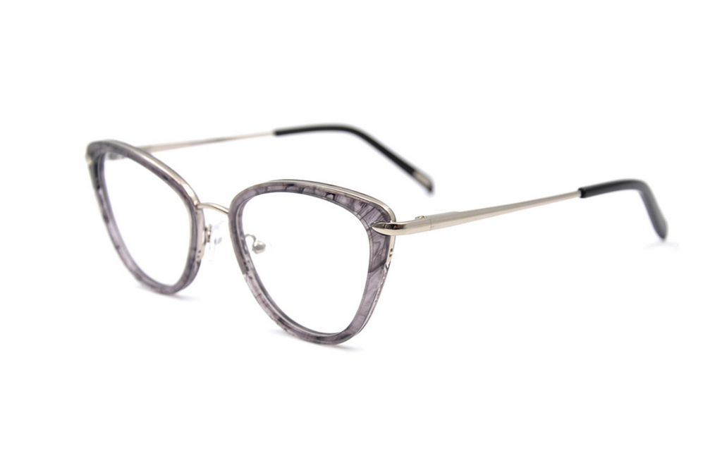 beautiful grey glasses frames