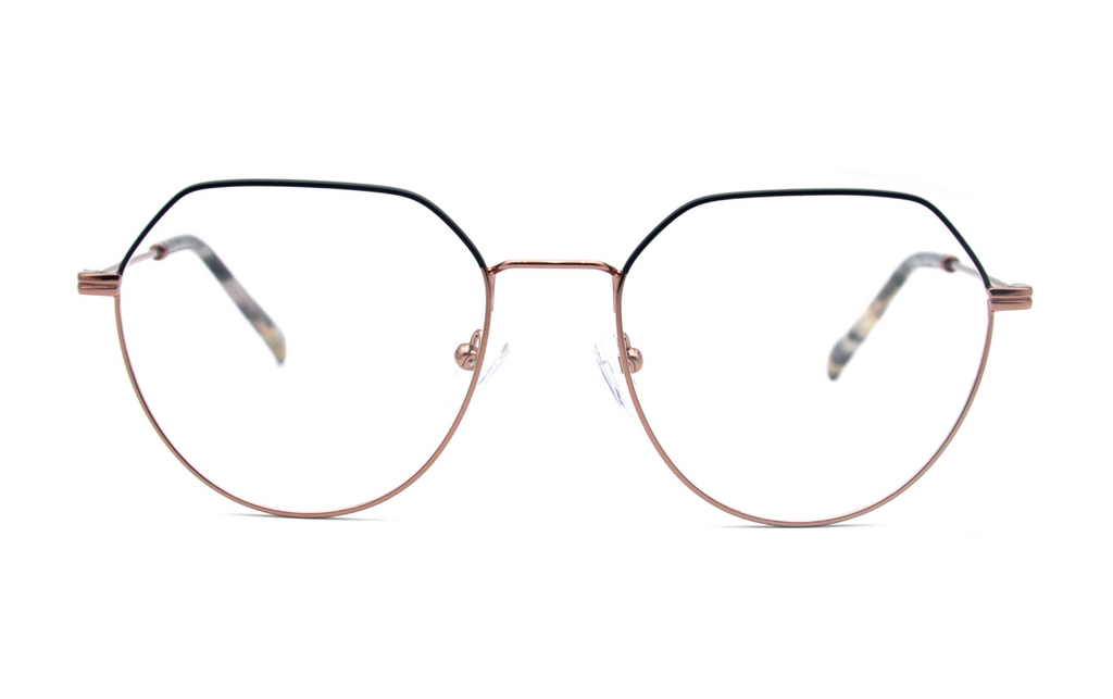 black pink prescription glasses