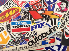 "Vintage Surf & Motor Sport Stickers ""SOLD OUT"""