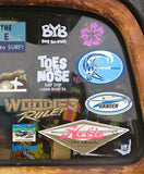 "Hang Loose Shaka Brah ""Small"" Surfing Sticker Decal"