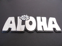 Hawaiian Aloha Auto Emblem Car Sticker